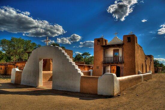 San Geronimo Church Taos Pueblo by K D Graves Photography