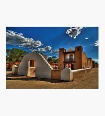 San Geronimo Church Taos Pueblo Photographic Print