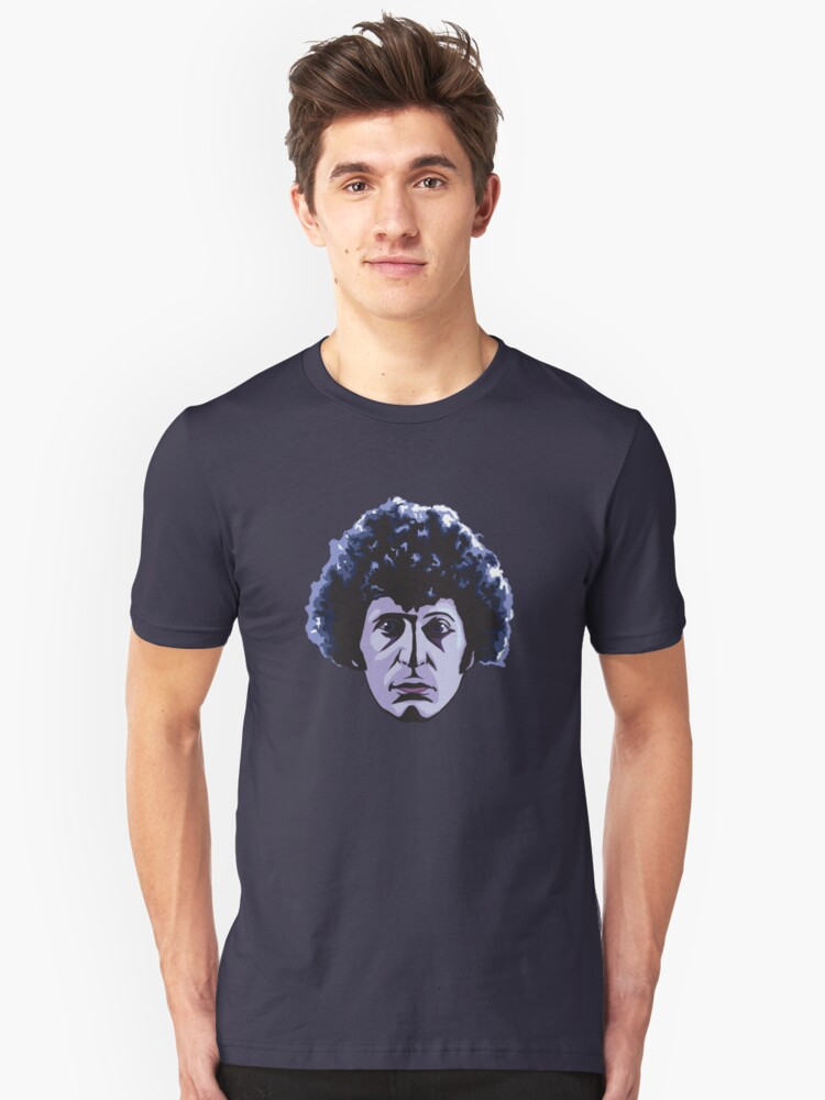 The Face Of Who Unisex T-Shirt Front