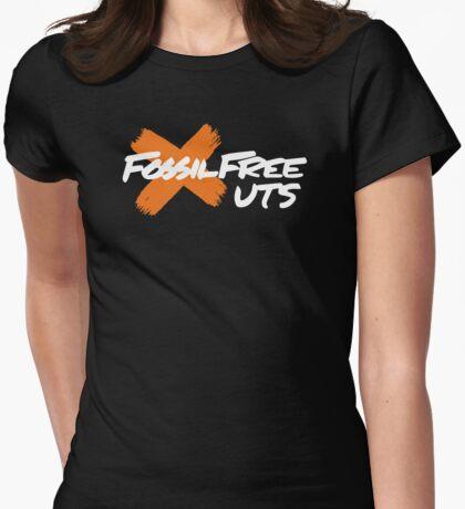 Fossil Free UTS (on black) T-Shirt