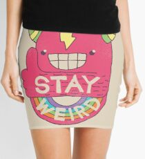 STAY WEIRD! Mini Skirt