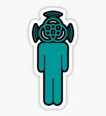 Basshead Gumby Sticker
