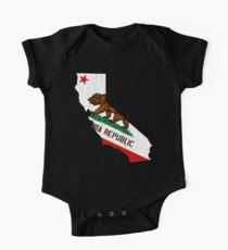 California State Bear Flag (vintage distressed design) One Piece - Short Sleeve