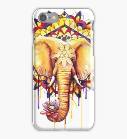 Elephant Mandala iPhone Case/Skin
