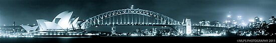 Sydney Harbour Bridge and Opear House by Andrew  MCKENZIE