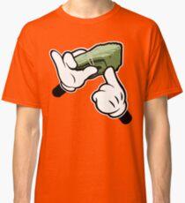 Make It Rain Cartoon Hands (Ghetto Fat Stack) Classic T-Shirt