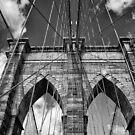 Brooklyn Bridge by Euge  Sabo