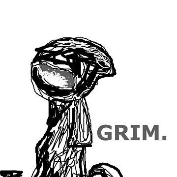 Grim Reaper doodle by eamonnPG