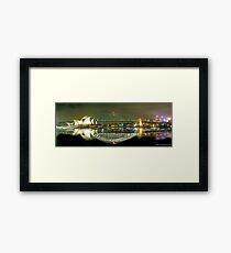 Sydney Harbour Bridge reflection Framed Print