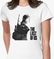 Ellie in the last of us Womens Fitted T-Shirt