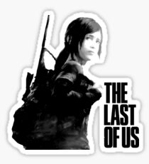 Ellie in the last of us Sticker