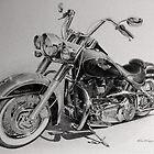 Harley Deluxe by Kevin Krueger