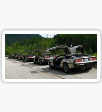 Holy Deloreans, Batman! Sticker