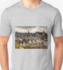 Grey Skies over the Old Town T-Shirt