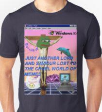 Basura estética Camiseta ajustada