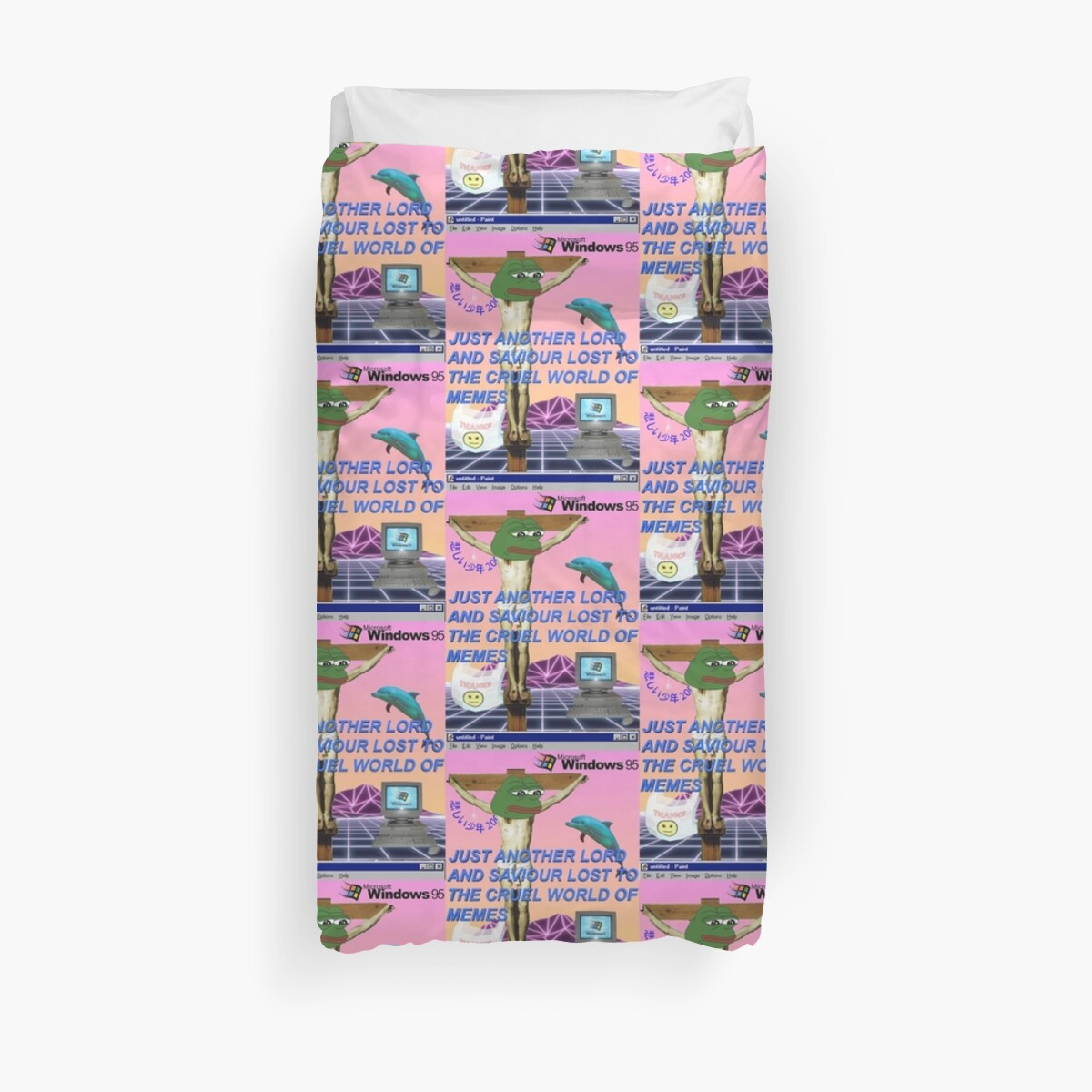 Quot Trash Aesthetic Quot Duvet Covers By Pennysoda Redbubble