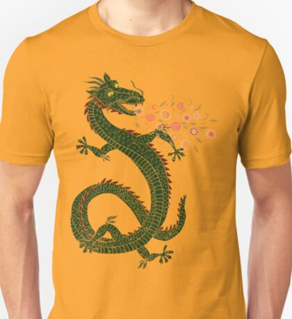 Dragon, Flower Breathing T-Shirt