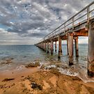 Point Lonsdale Pier by Danielle  Miner