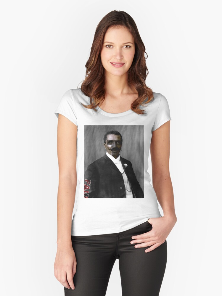 George Washington Terrific Women's Fitted Scoop T-Shirt Front