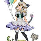 Free Balloons by rbrogdenart