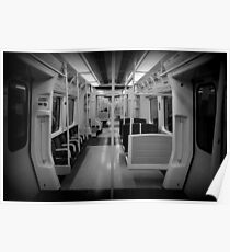Metropolitan Line Train Poster