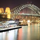 Sydney Harbour Bridge and Passenger Terminal by Andrew  MCKENZIE