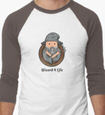 Wizards Represent! Men's Baseball ¾ T-Shirt