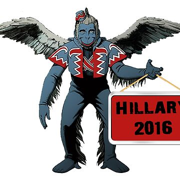 Hillary 2016 Clinton Wicked Witch Stickers, Shirt, Posters by 8675309