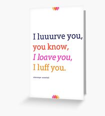 Annie Hall Greeting Card