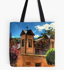 Santuario de Chimayó Church Tote Bag