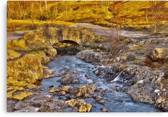 Ashness Bridge - Lake District by Trevor Kersley