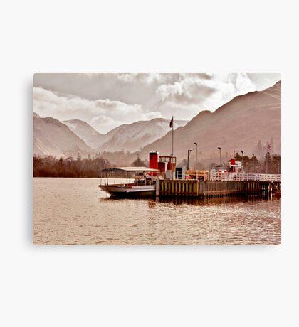 Ullswater Steamer Canvas Print