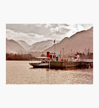 Ullswater Steamer Photographic Print