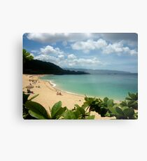 Waimea Bay North Shore Oahu Metal Print