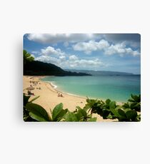 Waimea Bay North Shore Oahu Canvas Print