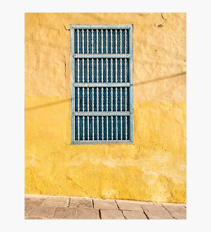 Yellow Wall Photographic Print