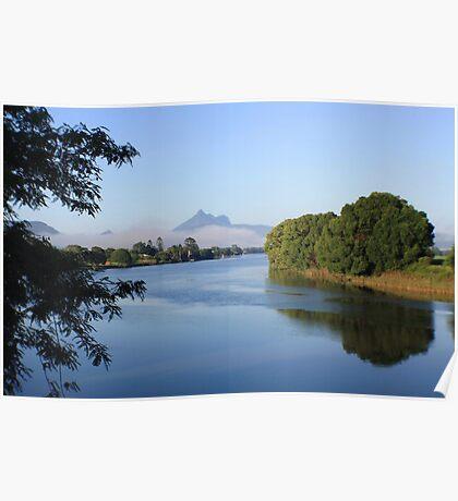tweed river morning ... Poster