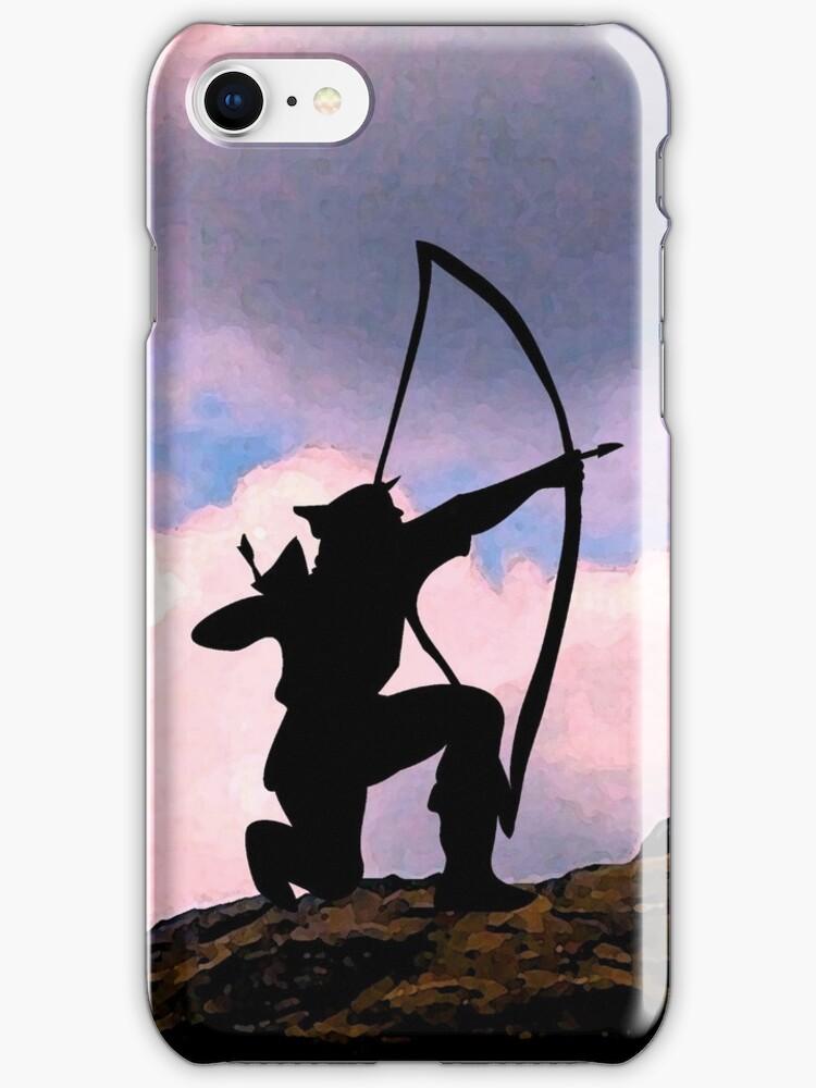 Archery iPhone case 4 U by patjila