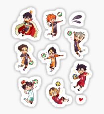 Haikyuu!! Sticker Pack (Set) Sticker