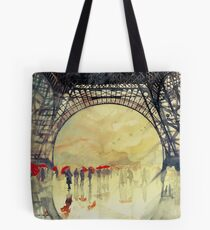 Under the Eiffel Tower Tote Bag