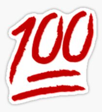 Emoji 100 Sticker