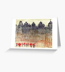 Brussels Greeting Card
