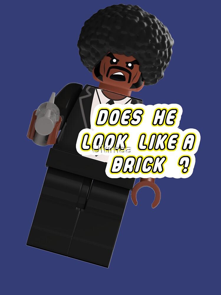 Lego Brick Fiction Parody Variant 03 by Ultimaa