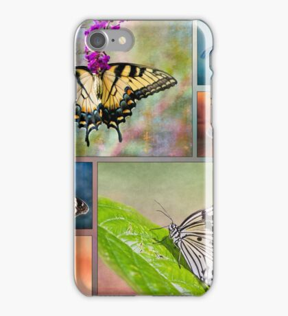 Butterfly Collage iPhone Case/Skin