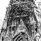 Notre Dame in Paris by Maja Wrońska