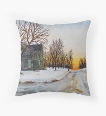 Spring Is Coming Throw Pillow