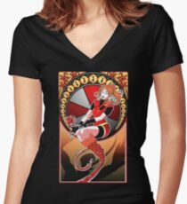 Resident Nouveau Women's Fitted V-Neck T-Shirt