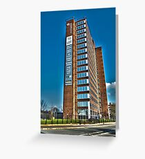 Office Tower Greeting Card