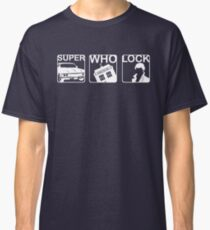 SuperWhoLock Horizontal Classic T-Shirt