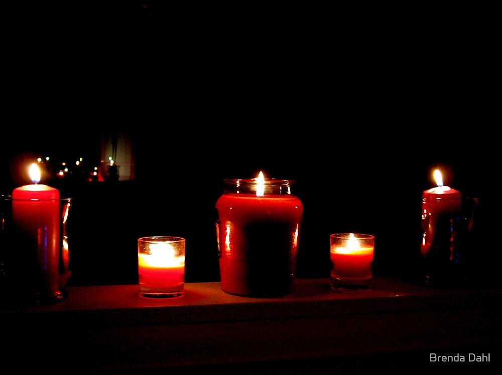 Valentine Mood Lighting by Brenda Dahl